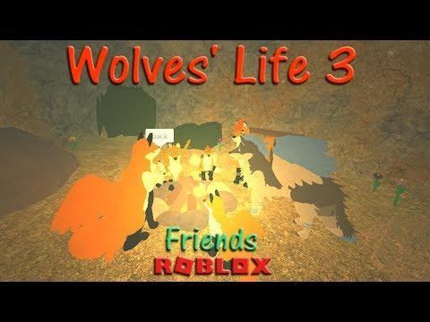 Roblox - Wolves' Life 3 - Friends VI - HD