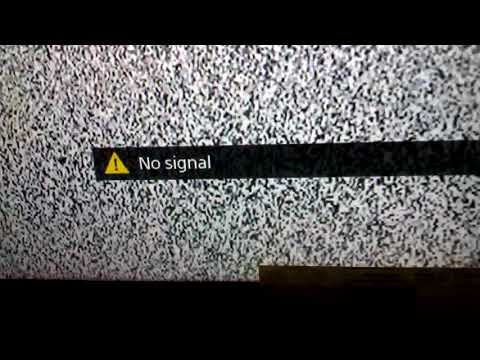 Sony Bravia TV is not displaying picture or no signal