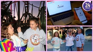 12 YEAR OLD IN CHARGE FOR 24 HOURS * ONE MILLION SUBSCRIBERS *   SISTER FOREVER