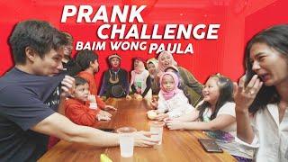Kocak BAPAU Dua-duanya Kena Prank Pas Challenge | Minum Garam Challenge