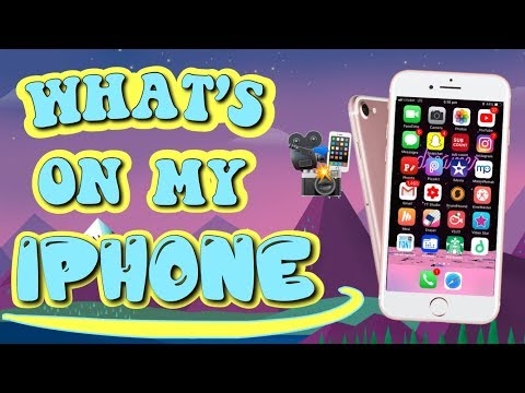 WHAT'S ON MY IPHONE? | 2019 (ALL THE APPS I USE!)