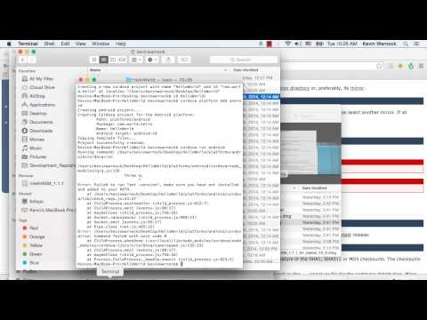 Install ant on Mac OSX.mp4