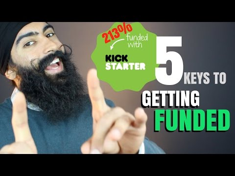 Get Your Kickstarter Campaign Funded in 5 Steps - Launching A Business | Kickstarter Tips