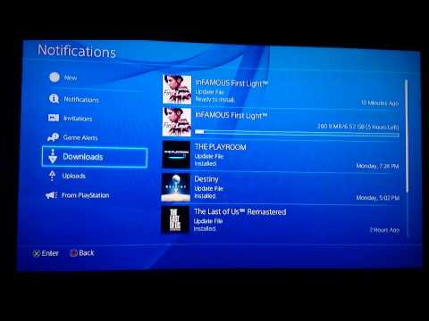 Pause download Ps4