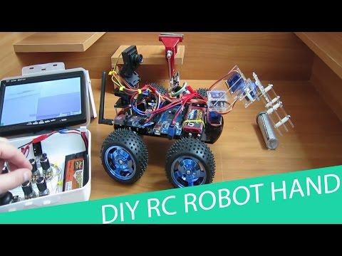 How to Make a Remote Control Robot Hand // HomeCraft