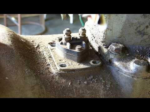 How to repair a Ferguson TE20 Starter Switch