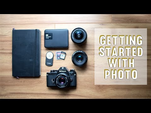Getting Started with Photography | For Beginners