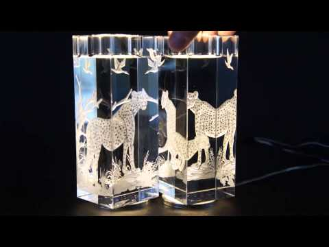 Engraved Candle Sticks