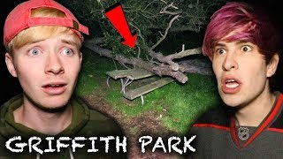 The HAUNTED Secrets of GRIFFITH PARK (Caught!)