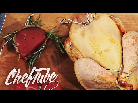How to tie Poultry for cooking