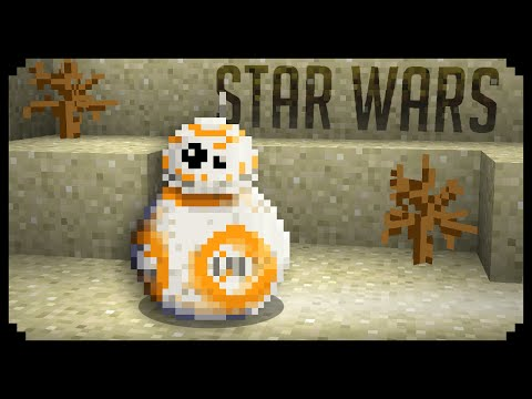 ✔ Minecraft: How to make a BB8 - Droid (Star Wars)
