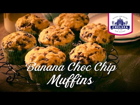 Chelsea Sugar Banana Choc Chip Muffins