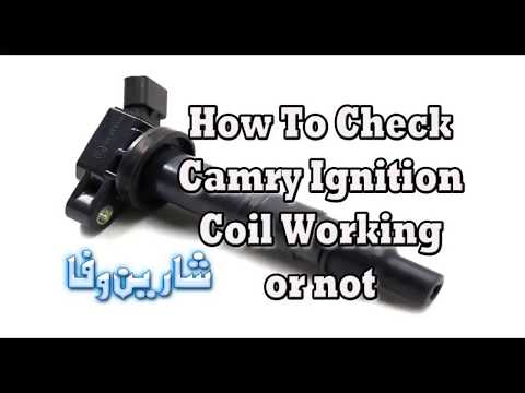 How to check Toyota 4 pin ignition coil Warning see description