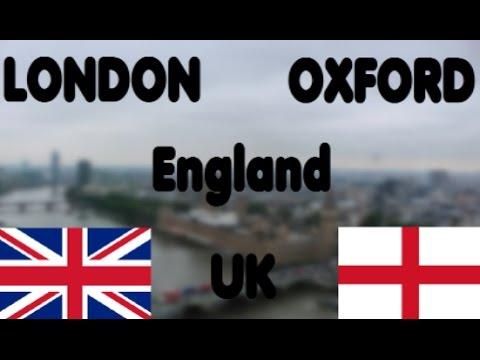 UK 2016 - London & Oxford