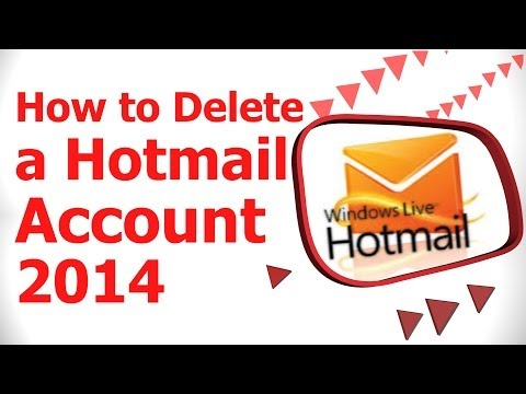 How to Delete a Hotmail Account 2014