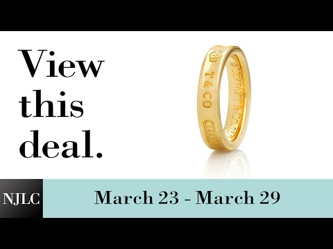 Deal of the Week: Yellow Gold Tiffany & Co.® Ring