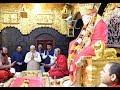 PM Shri Narendra Modi Visits Sai Baba Temple In Shirdi Maharashtra 19102018