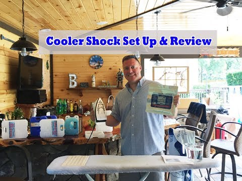 How To Setup Cooler Shock Ice Pack, Demonstration & How Long To Freeze Cooler Shock