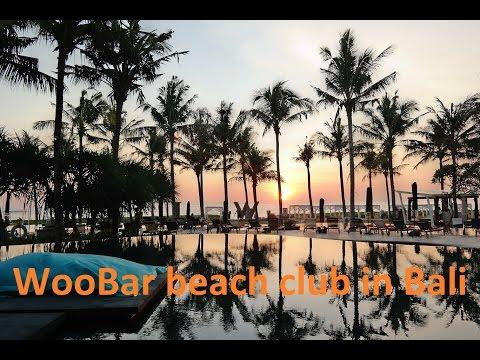 WooBar beach club at the W Hotel - Woobar in Seminyak Bali