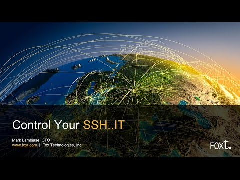 Session 3: Control Your SSH..IT