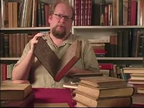 Guide to Collecting Rare Books : Terms Used to Describe Rare Books