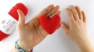 Tığ işi amigurumi kalp nasıl yapılır - Kolay Örgüler | 180x320