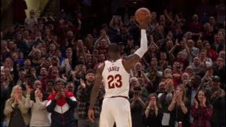 LeBron James passes Michael Jordan, 867 games with 10+ points in a row!