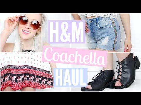 H&M Haul - Coachella 2016 | Sophie Louise
