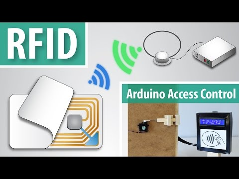 How RFID Works and How To Make an Arduino based RFID Door Lock