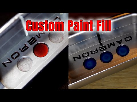 Custom Paint Fill - How To Give Your Putter A Face Lift