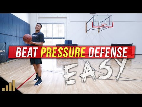 How to: Dribble Against Tight Pressure Defense!! BEAT A FULL COURT PRESS EASY!