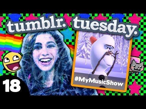 FROZEN TUMBLR! (Tumblr Tuesday #18)