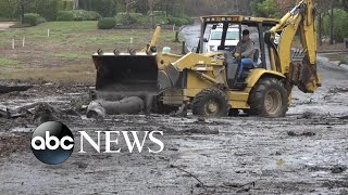 Deadly California mudslides swallow lives, homes, cars