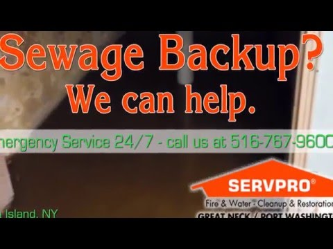 Sewage Backups Happen to Both Septic AND Sewer!