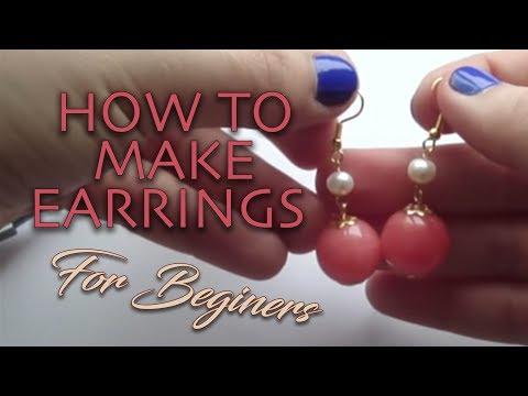 Jewelry Making Basics DIY: How to Make Earrings Tutorial
