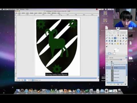 GIMP Tutorial - Coat of Arms