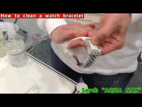 How to clean a watch case and watch bracelet