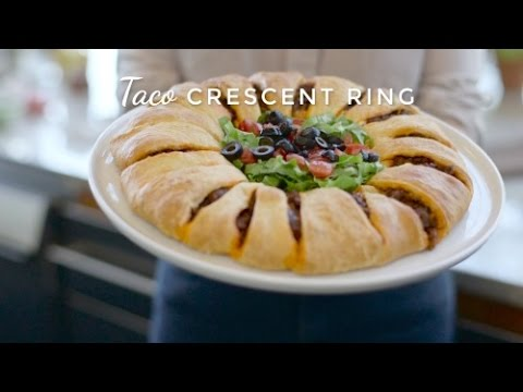 How To Make Taco Crescent Ring