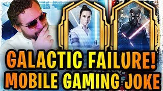 Galactic Legends is the Biggest Joke in Mobile Gaming History - What Is CG Doing to SWGoH?
