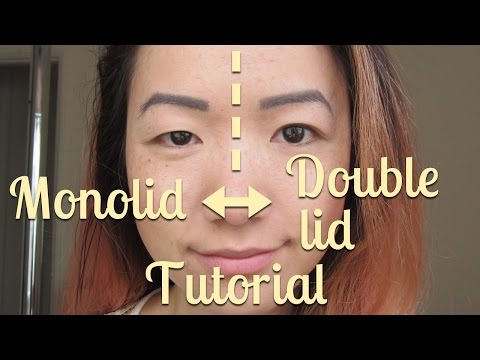 How-to: Monolid to Double Lid or Double Lid to Monolid, WITHOUT SURGERY