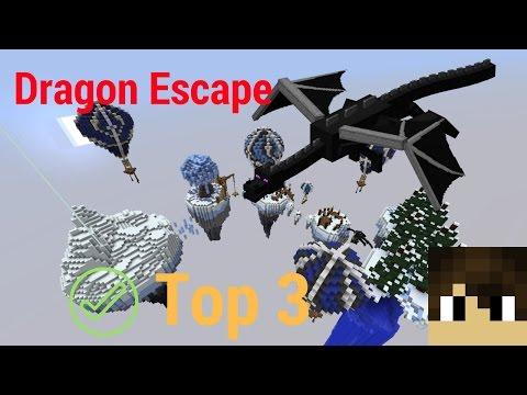 Top 3 Streak Challenge?//Mineplex Dragon Escape