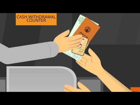 Banking Tip #2: How to withdraw cash from your savings account?