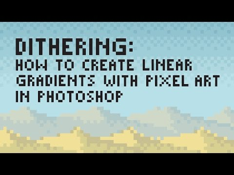Dithering: How to Create Linear Gradients with Pixel Art