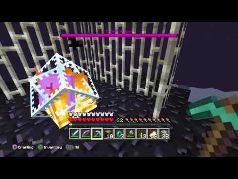 Minecraft PS4 Edition KILLING THE ENDER DRAGON #4