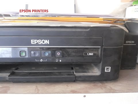 refill ink in epson L 360