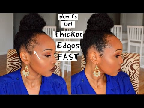 HOW TO GET THICKER EDGES IN MINUTES