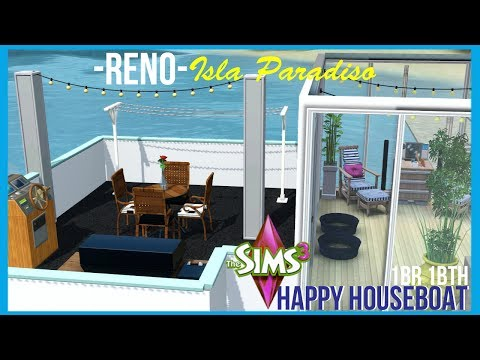 The Sims 3| Happy Houseboat Renovation | 1BR 1BTH