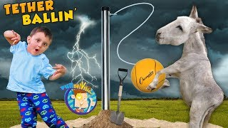 Download FV Family DIY Game! Tetherball at the Farm + Coyote Blocking Project Video