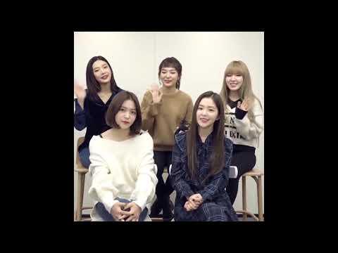 171204 Red Velvet 레드벨벳 SPOTIFY 'Perfect Velvet' English Greetings