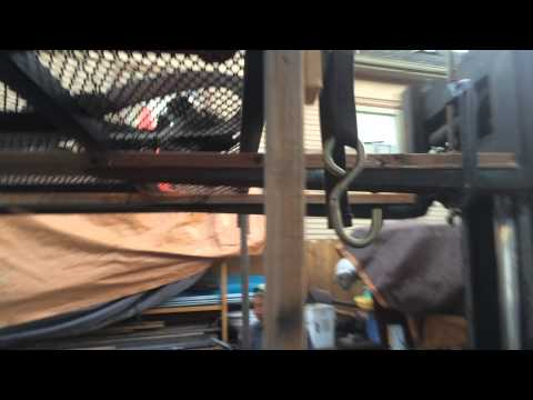 20150629 Double Jet Ski Trailer modification